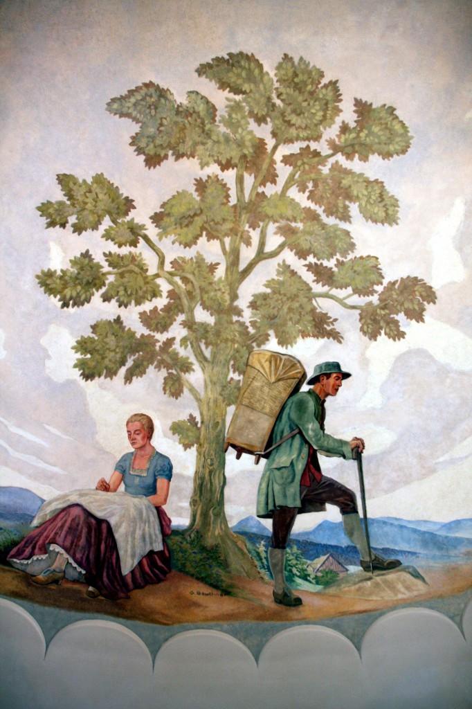 Sala Rajców -tkactwo i zielarstwo