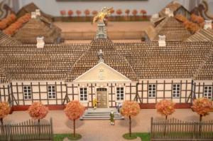Fragment makiety Pałacu Saskiego w Kutnie Fot. Michał Jabłoński 300x198 - Wyjątkowe Muzea w Kutnie - Regionalne, Bitwy nad Bzurą, Pałac Saski