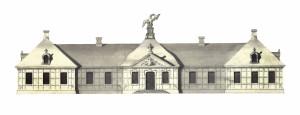 Projekt Pałacu Saskiego w Kutnie