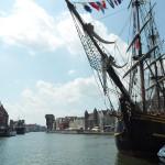 """Bounty II in Gdańsk during Baltic Sail 150x150 - Międzynarodowy Festiwal Eko-Kultury """"Trypilskie Koło.Woda"""" - Rżyszczew"""