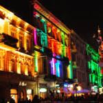 Patriotyczny Light Move Festival w Łodzi