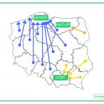 Jak preferencje wakacyjne Polaków różnią się w zależności od miejsca zamieszkania?