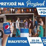 Przystanek smaku Pepsi w Białymstoku