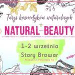 Targi Kosmetyków Naturalnych Natural Beauty w Poznaniu