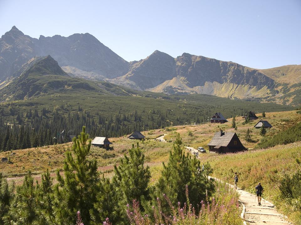 hala gąsienicowa - Jakie szlaki dla początkujących w Tatrach?
