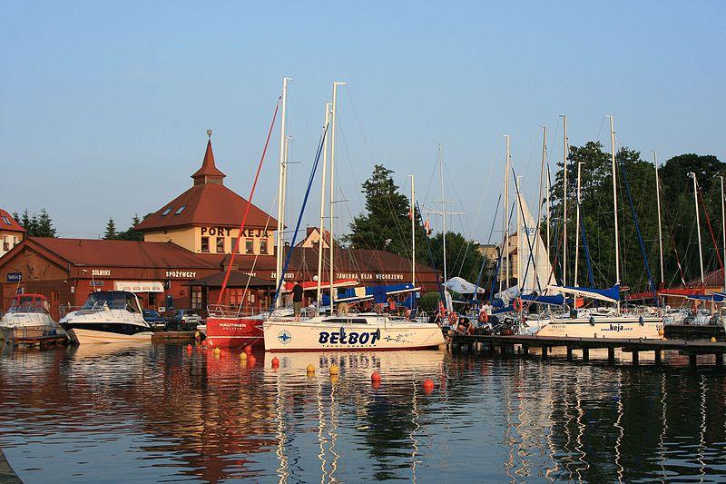 port węgorzewo - Gdzie na żagle w Polsce - jeziora na Mazurach