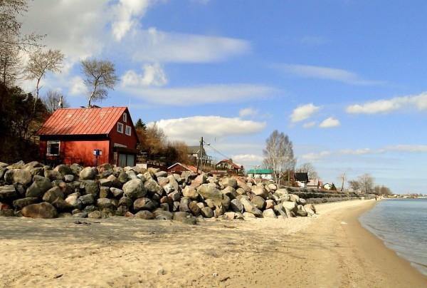 mechelinki przystan 600x404 - Spokojne miejscowości nad Bałtykiem. Top 5 miejsc w sielskim stylu.
