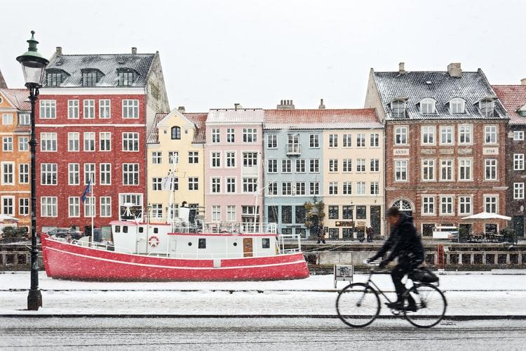 denmark - TOP 10 krajów najbardziej przyjaznych rowerzystom