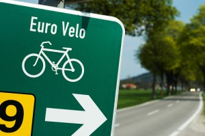 euro - Typy dróg rowerowych w Polsce