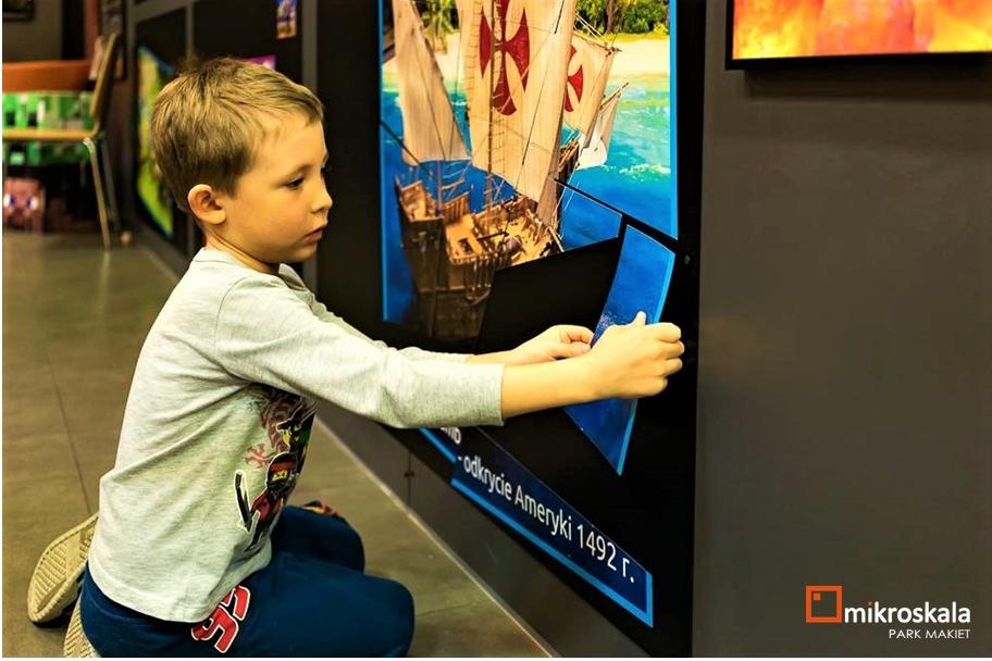 magnetyczna scianka - #1 Park Makiet Mikroskala - nauka z zabawą, czyli atrakcja idealna dla rodzin