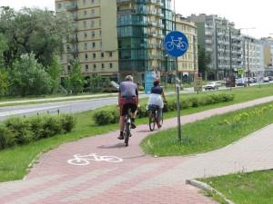 row1 - Typy dróg rowerowych w Polsce