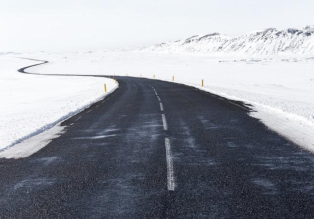 trasa zimowa 1 - Jazda rowerem zimą - czyli jak się przygotować?