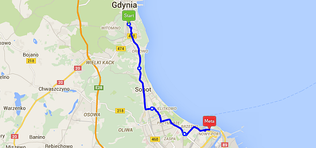 westerplatte - 10 świetnych tras rowerowych na wakacje
