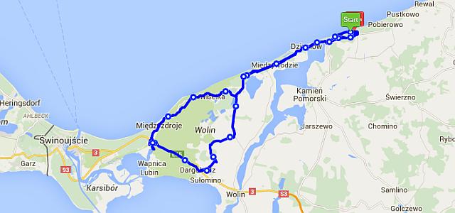 wolin - 10 świetnych tras rowerowych na wakacje