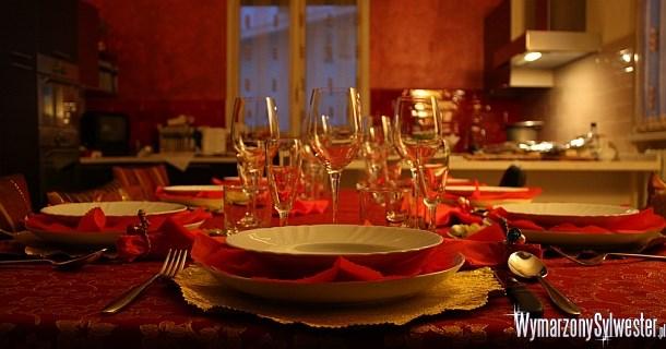 Sylwestrowa kolacja