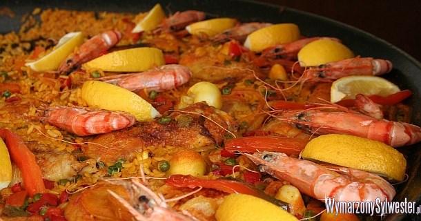 Tradycyjna noworoczna Paella