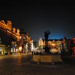 Sylwester w Poznaniu na Placu Wolności